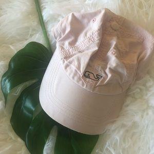 Vineyard Vines Whale Logo Baseball Hat~Flamingo